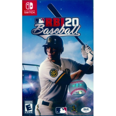 RBI 美國職棒大聯盟 20 RBI Baseball 20 - NS Switch 英日文美版