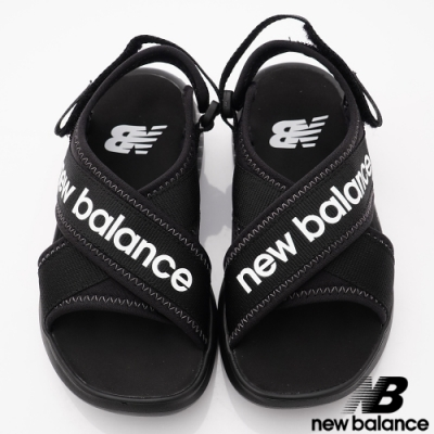 NewBalance 650輕量涼鞋款 AA黑(中大童段)