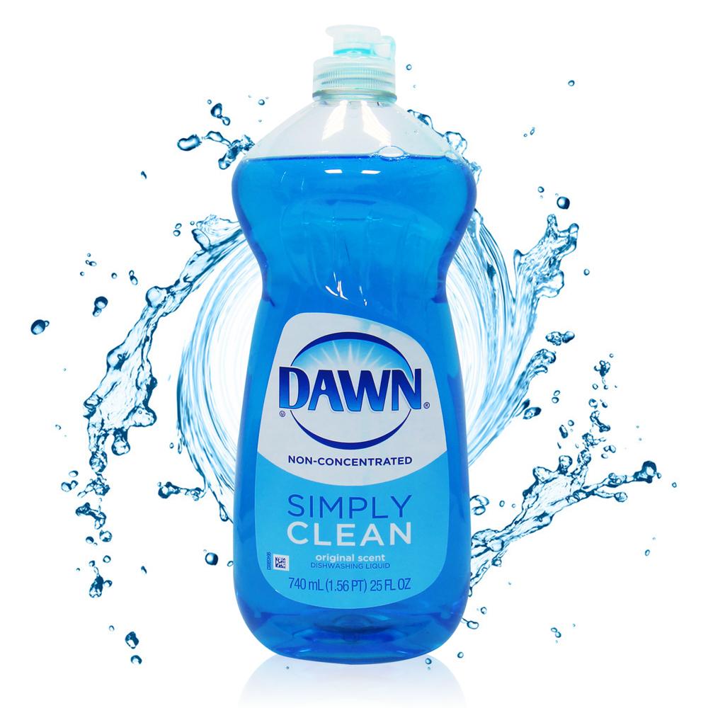 美國 DAWN 洗碗精-經典原味(25oz/740ml)