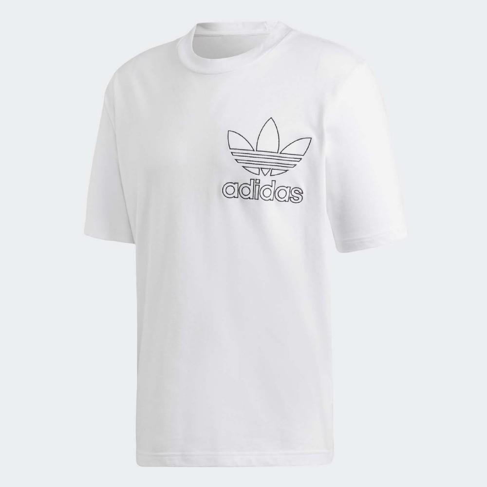 adidas T恤 Originals Outline T 男款