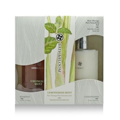 Bath & Bloom 檸檬草薄荷洗潤髮禮盒組 170mlx2