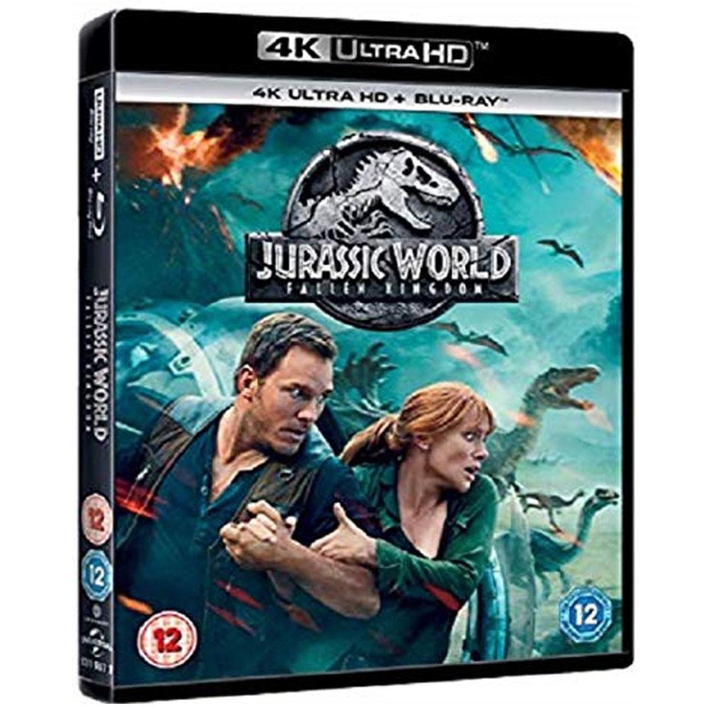 侏羅紀世界:殞落國度 4K UHD + BD 雙碟限定版