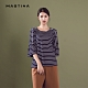 【MASTINA】線條造型五分袖-上衣(二色) product thumbnail 1