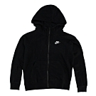 Nike 女 NSW ESSNTL HOODIE FZ FLC 棉質運動外套(連帽)