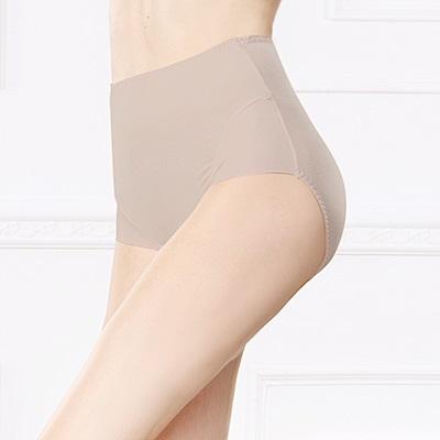 內褲 保養絲蛋白L-2XL蜜桃褲 優雅紫 可蘭霓Clany