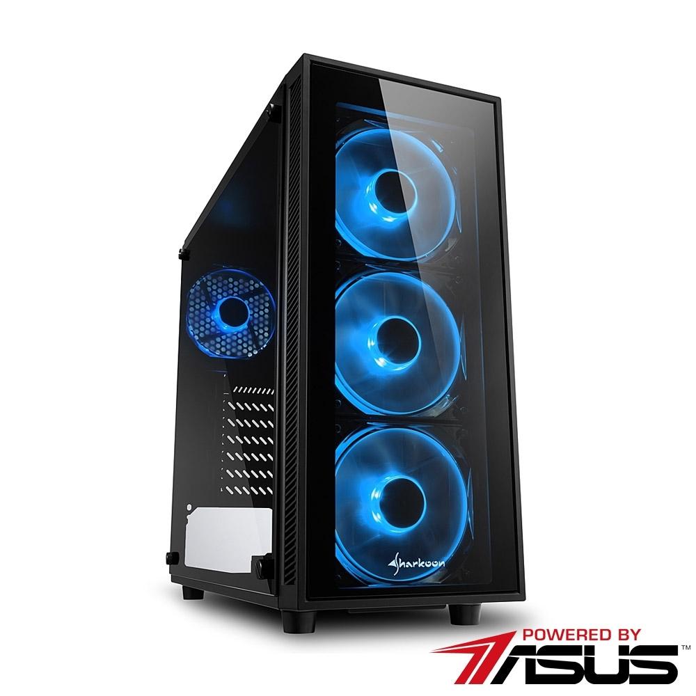 華碩平台[漩渦策士]i5-9400F/32G/2T/GTX1660S/512G_M2