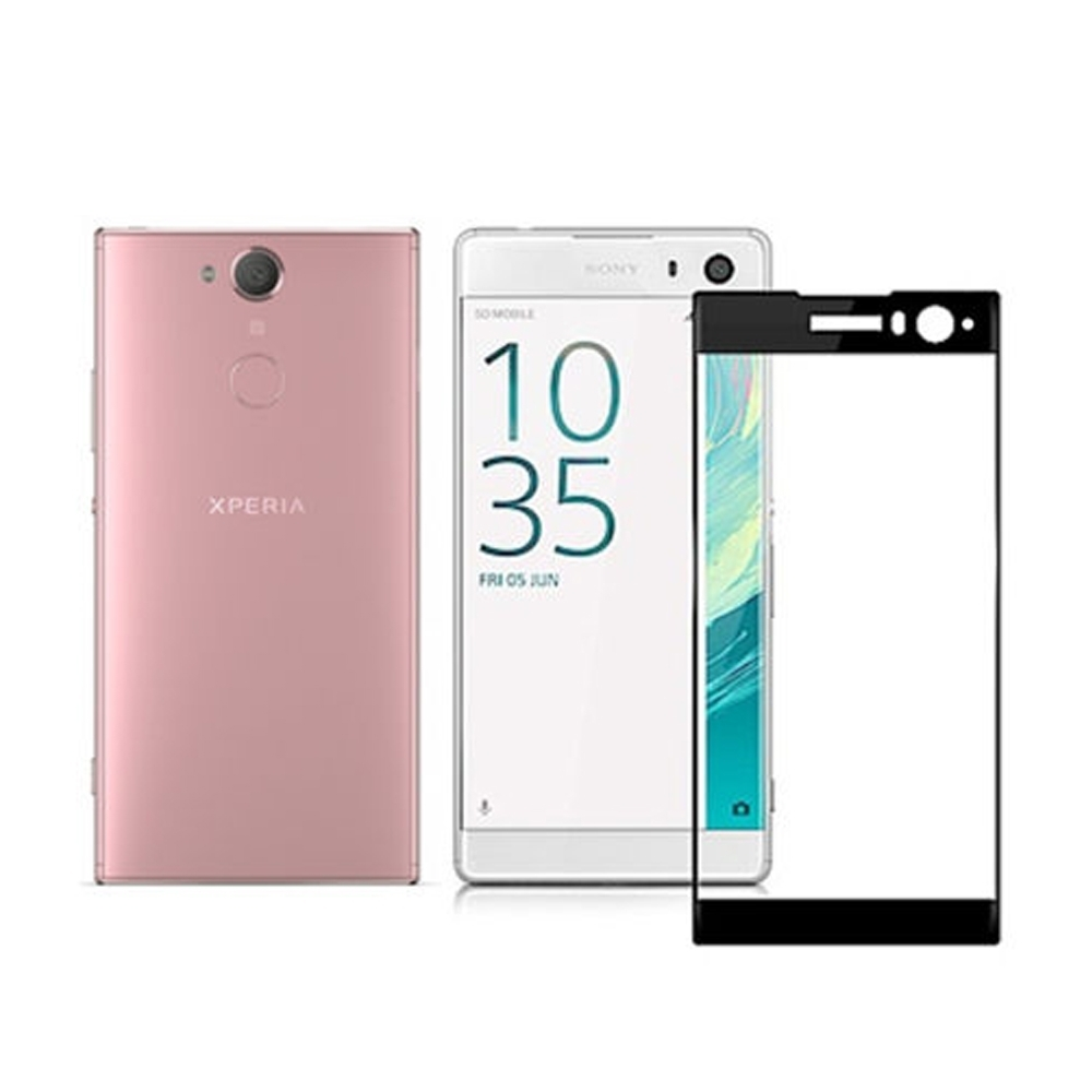 【MK馬克】Sony XA2 滿版9H鋼化玻璃貼保護膜