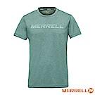 MERRELL 吸濕快乾排汗短袖男T恤-綠(5218TR212)