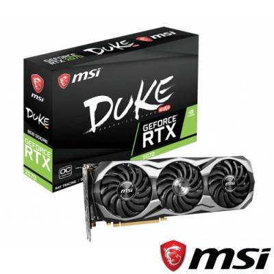 MSI微星 GeForce RTX 2070 DUKE 8G OCV1 顯示卡