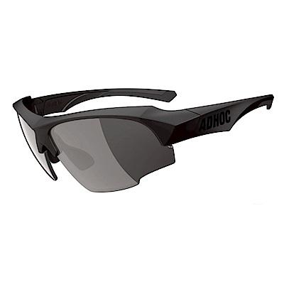 ADHOC運動太陽眼鏡-極速變色灰片-半框式K-NIGHT II