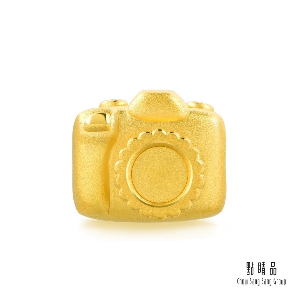 點睛品 Charme 帶我去旅行-相機 黃金串珠