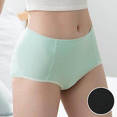 華歌爾-環保 M-3L高腰三角內褲(黑)