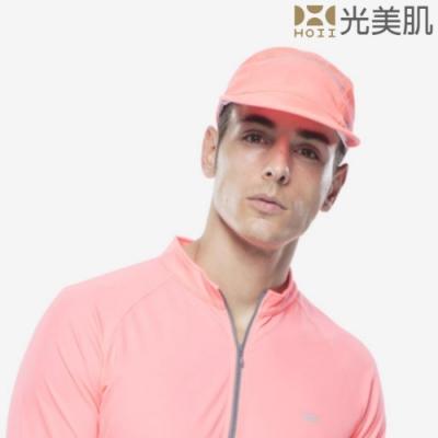 HOII光美肌-后益先進光學布-機能美膚光防曬高爾夫球帽(紅光)