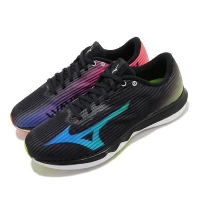 Mizuno 慢跑鞋 Wave Shadow 4 運動 男鞋 美津濃 雲波浪 緩震中底 耐磨大底 黑 彩 J1GC209228