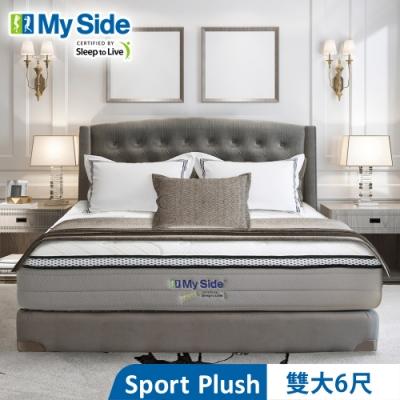 美國 My Side Sport Plush 獨立筒 彈簧床墊-雙大6尺