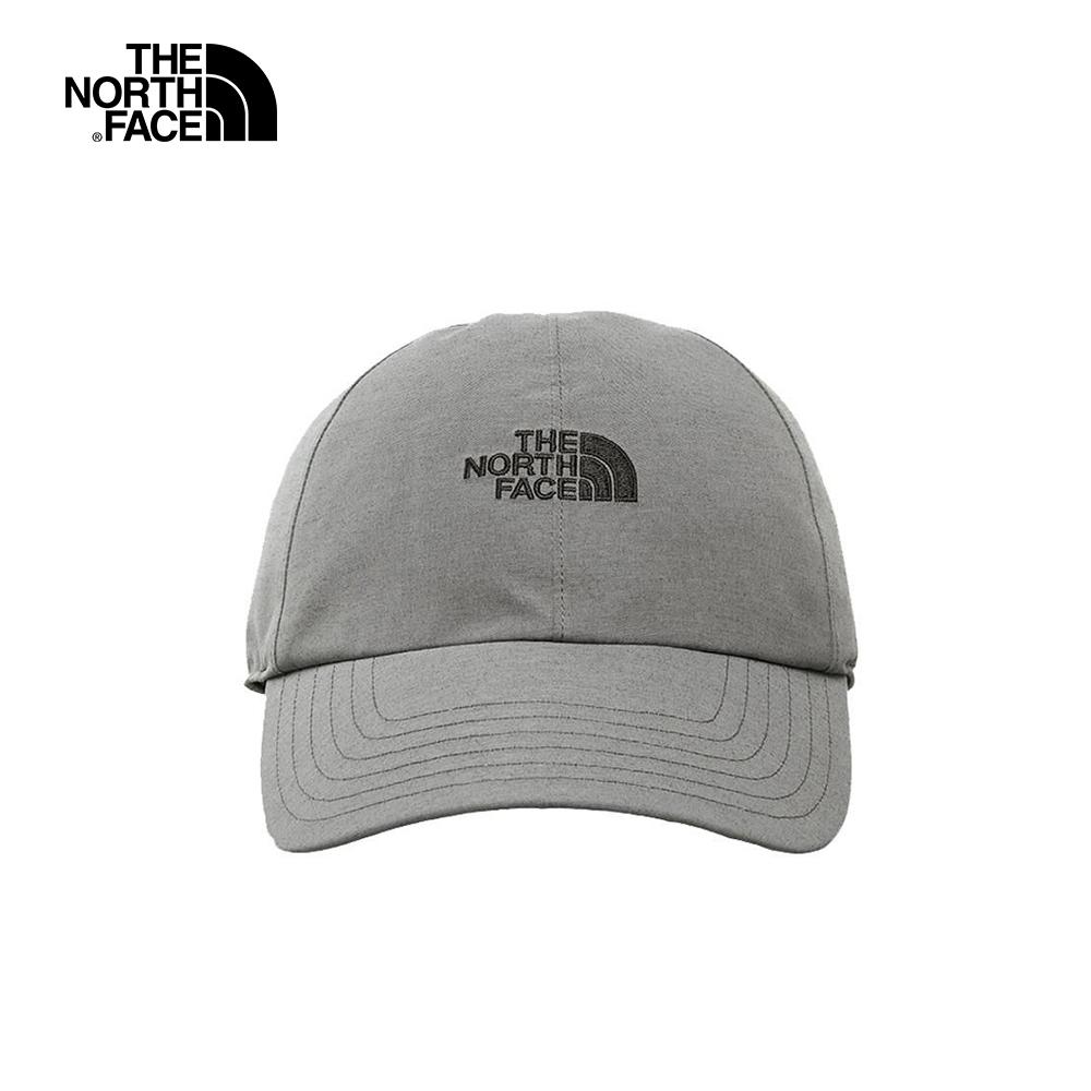 The North Face北面男女款灰色防水透氣潮流運動帽|A0BMHAT