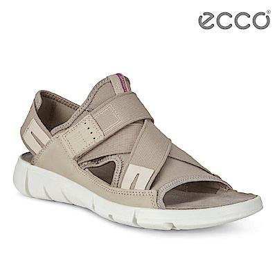 ECCO INTRINSIC SANDAL 時尚酷感運動涼鞋-灰