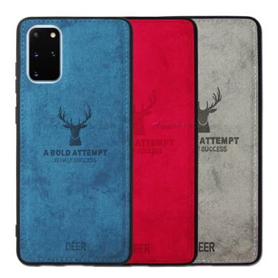 DEER 三星 Samsung Galaxy S20+ 北歐復古風 鹿紋手機殼