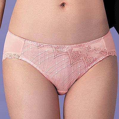 莎薇-巴洛克的魔力推推 L-3L 中低腰三角內褲(粉)舒適包臀