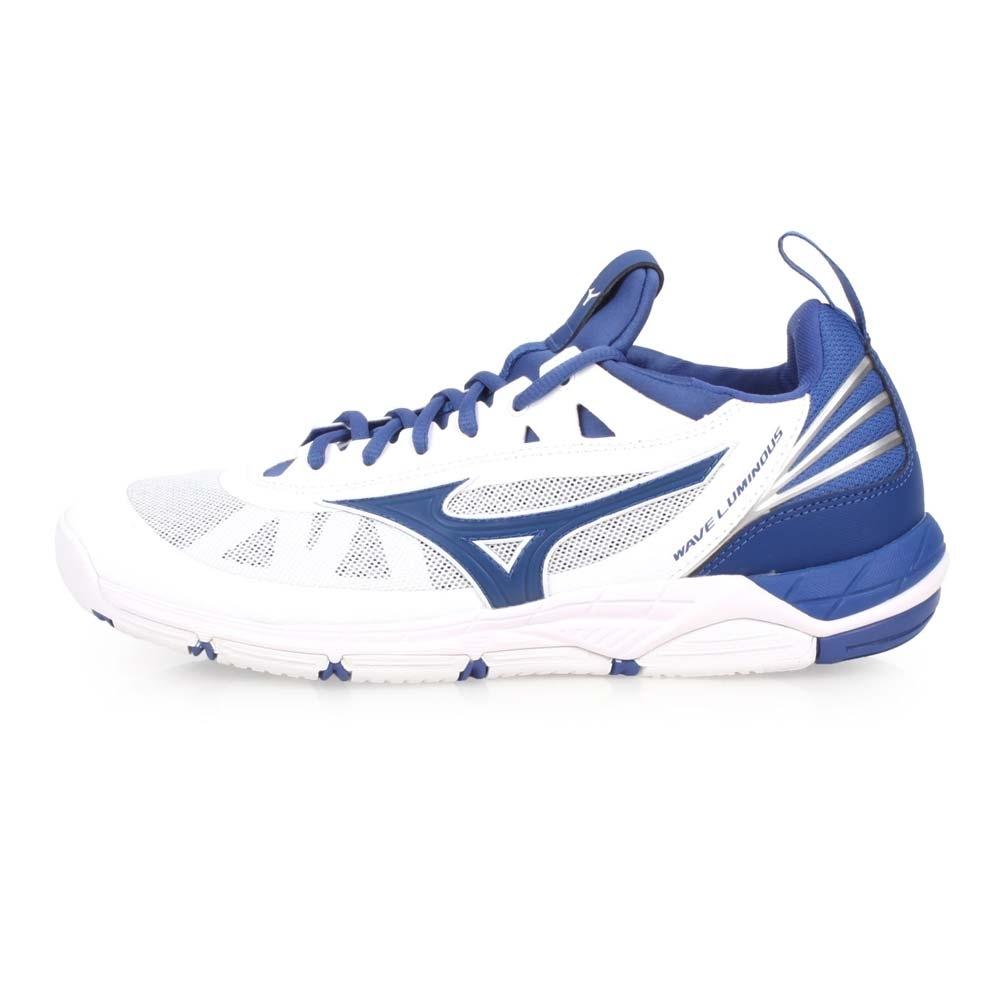 MIZUNO WAVE LUMINOUS 男排球鞋-訓練 排球  白丈青