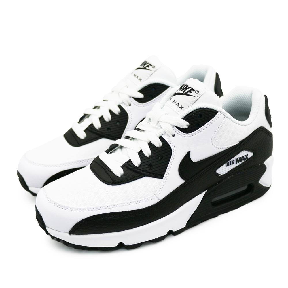 NIKE AIR MAX 90 LE 女 休閒鞋 白黑
