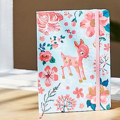 7321 Design 魔幻系列-娜塔莉綁帶橫線精裝筆記本-小鹿花園