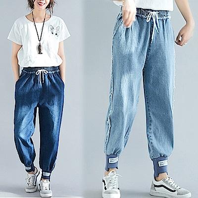 【韓國K.W.】超有型夏日牛仔褲-2色
