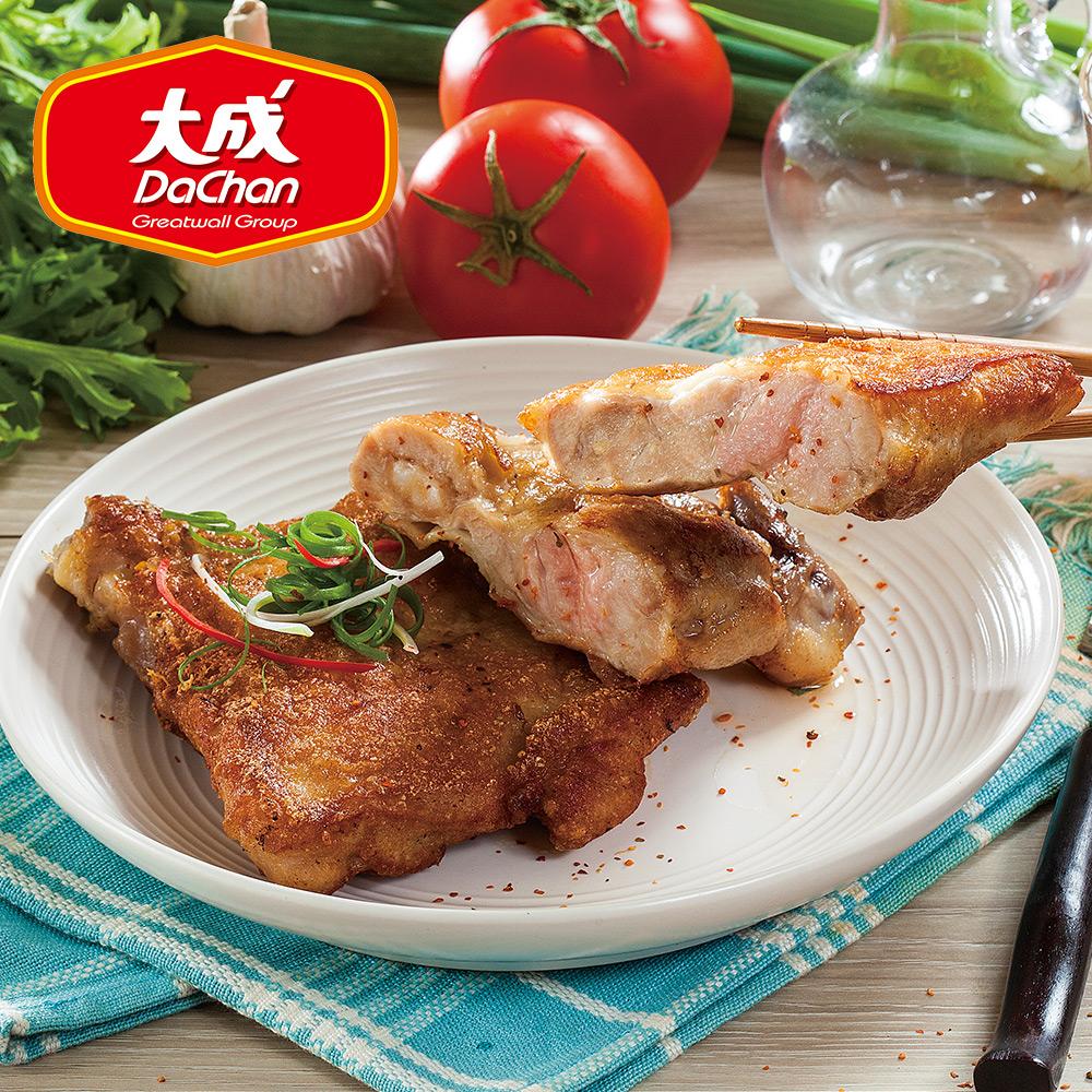 【大成-雞本享受】勁脆嫩煎雞腿排 *10片組(195g/片)