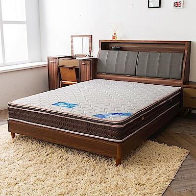 時尚屋 雷諾德雙色三線5尺雙人獨立筒彈簧床墊
