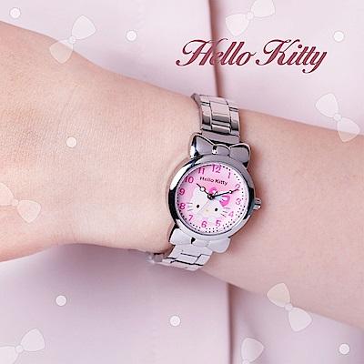 [時時樂限定]HELLO KITTY凱蒂貓蝴蝶結手錶-四色任選