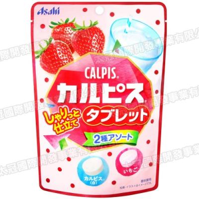 Asahi 可爾必思糖果-原味&草莓風味(48g)