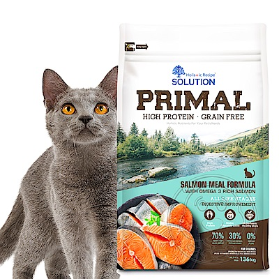 新耐吉斯SOLUTION》源野高蛋白無穀全齡貓/鮭魚配方-15lb/6.8kg