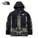 The North Face北面男款綠色防潑水衝鋒衣|3LZ9G2Y
