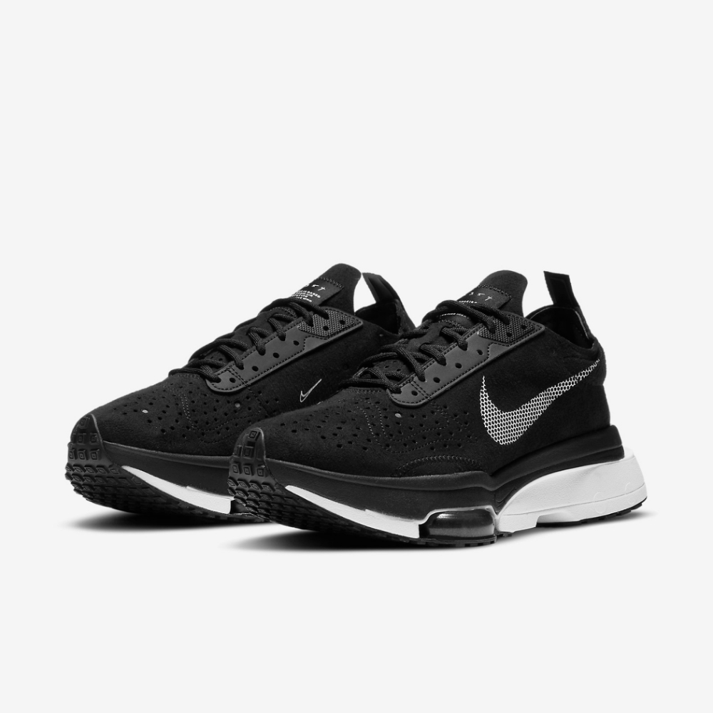 Nike 休閒鞋 Air Zoom Type 運動 女鞋 氣墊 舒適 避震 簡約 球鞋 穿搭 黑 白 CZ1151001