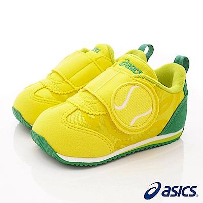 亞瑟士SUKU2機能鞋 網球造型學步款 44A001-750黃(寶寶段)
