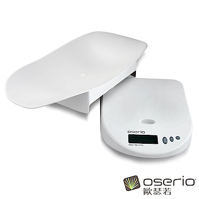 oserio歐瑟若 嬰兒數位體重計 BBP-703W