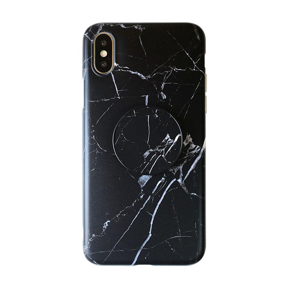 【TOYSELECT】iPhone7/8Plus INS大理石氣囊支架手機殼