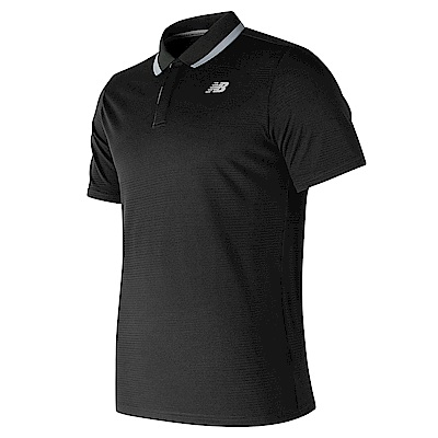 New Balance 短袖POLO衫 MT81415BK 男性 黑色