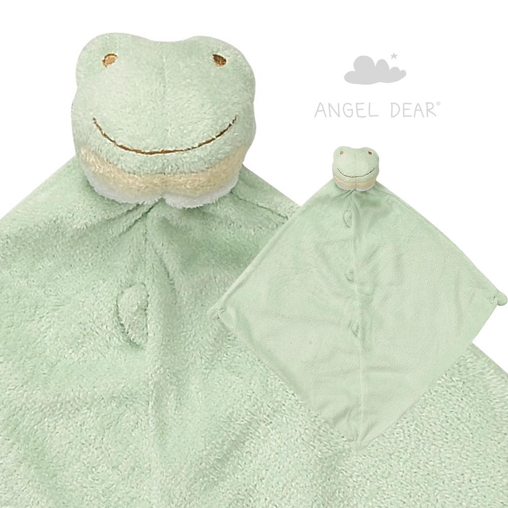 美國 Angel Dear 動物嬰兒安撫巾禮盒版 (小青蛙)