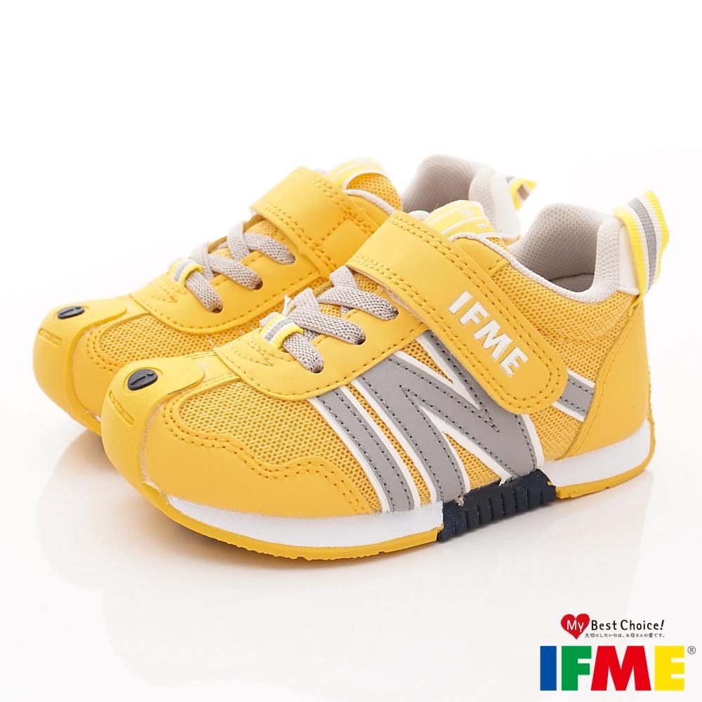 IFME健康機能鞋 輕量基本運動款 NI00814黃(中小童段)