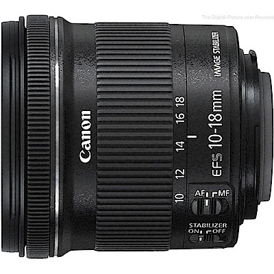 Canon EF-S 10-18mm F4.5-5.6 IS STM 超廣角鏡頭 平輸