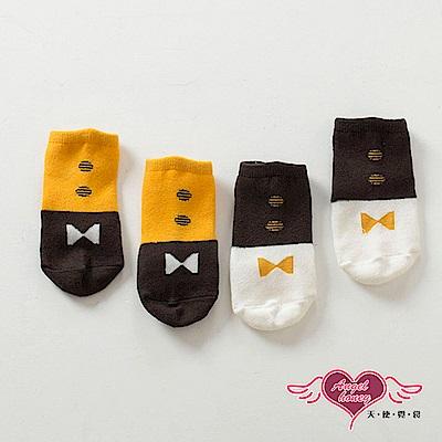 天使霓裳 領結紳士 可愛兒童短襪 2雙入(共2色)