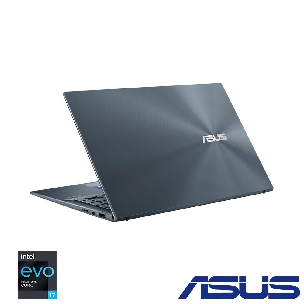 ASUS UX435EAL 14吋筆電 (i7-1165G7/16G/1TB SSD/EVO平台/ZenBook 14/綠松灰)