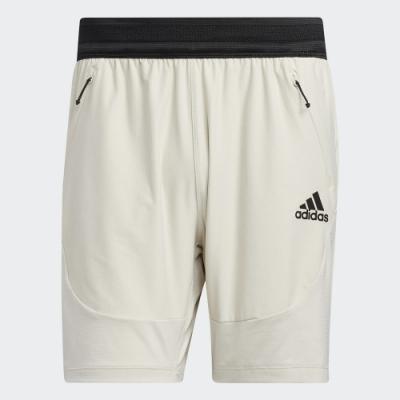 ADIDAS 短褲 運動 慢跑 健身 男款 白 GL1677 HEAT.RDY