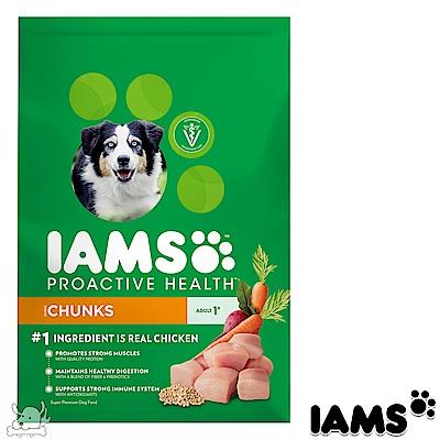 IAMS 愛慕思 健康優活 雞肉 成犬糧 15磅 2包組