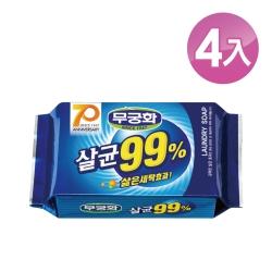 【韓國 MKH無窮花】抗菌洗衣皂 4入