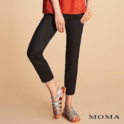 MOMA 俐落錦棉長褲