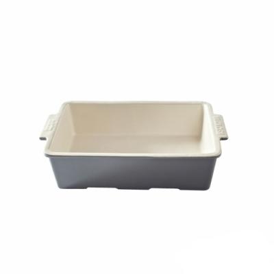 MASON BAKER LANE系列陶瓷方形烤盤(淺灰)
