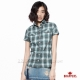 BRAPPERS 女款 上衣系列-女用短袖合身襯杉-麻綠 product thumbnail 1