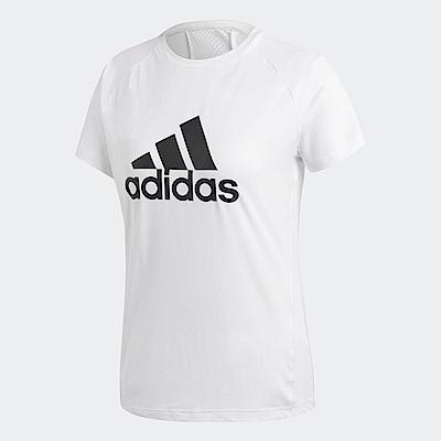 adidas Logo 短袖上衣 女 CZ8038